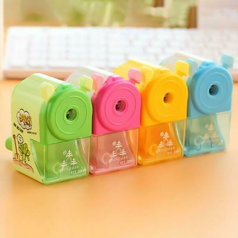 Kids Pencil Sharpener Hand Student Office
