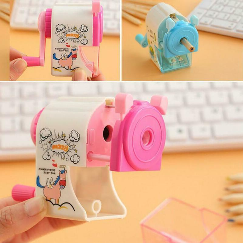 Kids Sharpener Stationery Hand Mechanical Student
