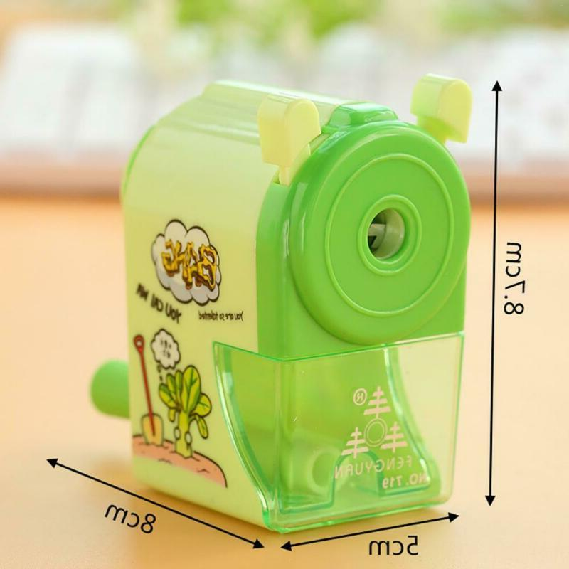 Kids Pencil Sharpener Hand Crank Student