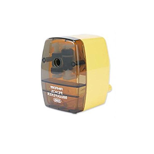 manual pencil sharpener colorful transparent