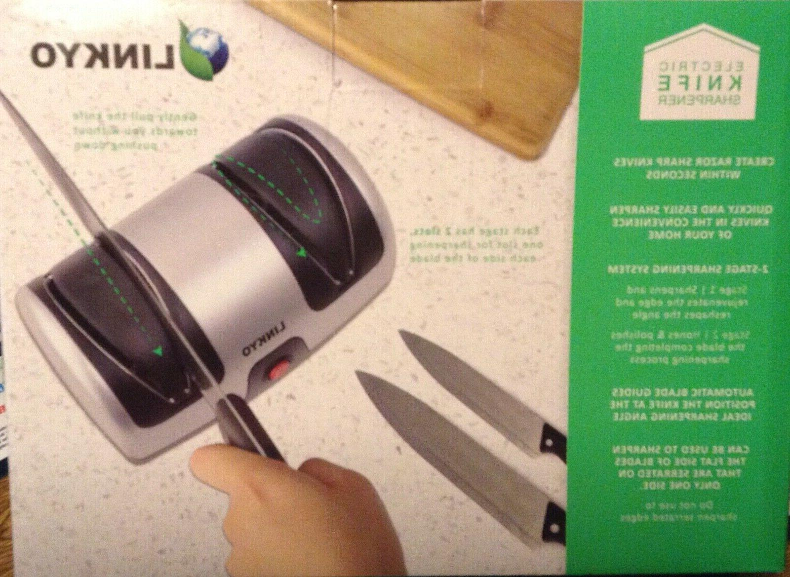 NIB LINKYO Sharpener, Kitchen Sharpening