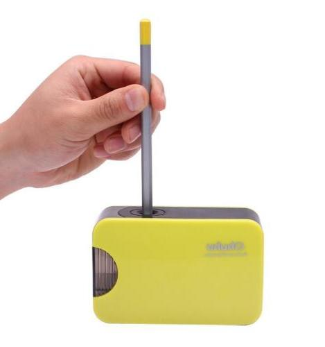 Pencil Sharpener Battery Personal School Se