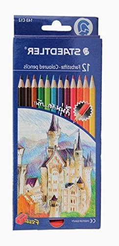 Staedtler Colored Pencils, 12 Colors