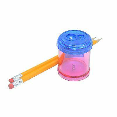 plastic manual pencil and crayon sharpener assorted