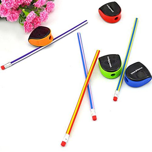 Cosmos 5 Color Plastic Manual Pencil Sharpener