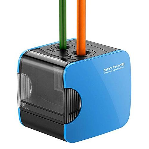 Electric Pencil Sharpener Heavy Duty Best USB or Battery Ope