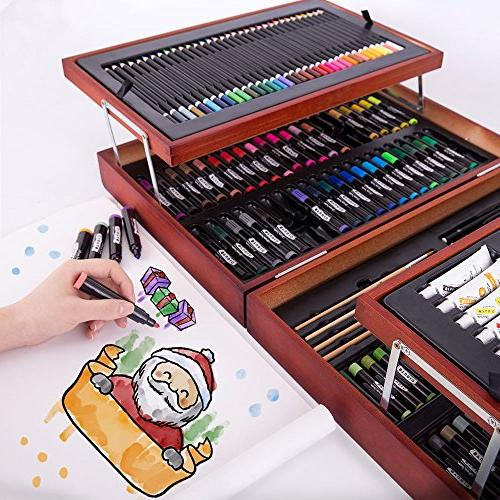 Mont Art Set, Art for Painting and Art Box Watercolor Oil Color