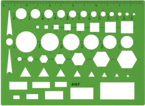 technical drawing template