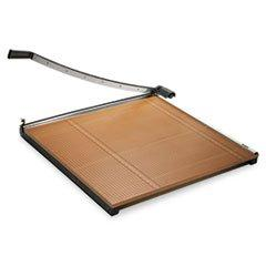 """-- Wood Base Guillotine Trimmer, 20 Sheets, Wood Base, 30""""X3"""