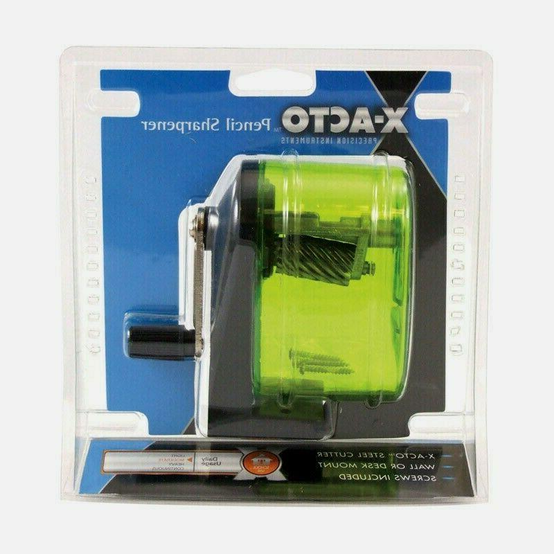 x acto bulldog pencil sharpener manual heavy