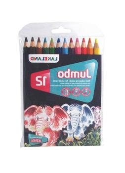 Derwent Lakeland Jumbo Coloring Pencils, 5.4mm Core, Pack, 1