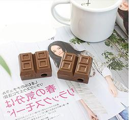 UltimaFio - 2pc Lovely Creative Chocolate Plastic Pencil Sha