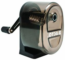 X-ACTO Manual Pencil Sharpener,Table-/Wall-Mount, Translucen