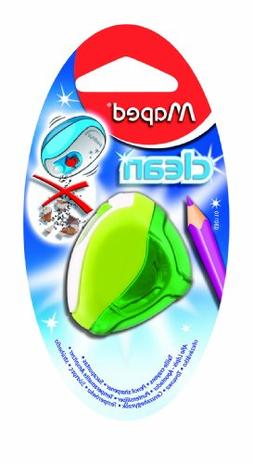 Maped 1 Hole Clean Pencil Sharpener - Assorted Colours  0301