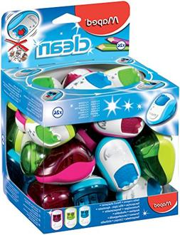 Maped 2 Hole Clean Pencil Sharpener- Assorted Colours  03021
