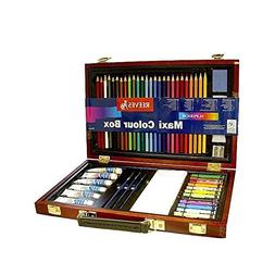 Reeves Maxi Colour Box wood box set