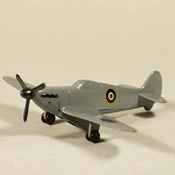 Metal Die Cast Gray Spitfire Plane Sharpener - Retro Plane M