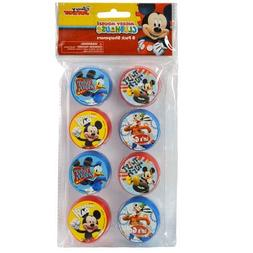 Disney Mickey Mouse 8pk Round Sharpeners