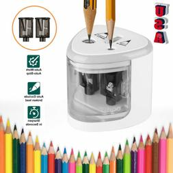 Electric Pencil Sharpener Automatic Touch Switch School Offi