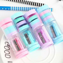 Mini Cute Pencil Sharpener and eraser For Student Kids Gifts