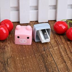 Seaskyer Mini Kawaii Cartoon Candy Colored Pencil Sharpener,