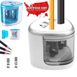 Mini Pencil Sharpener Automatic Electric Battery Operated Po