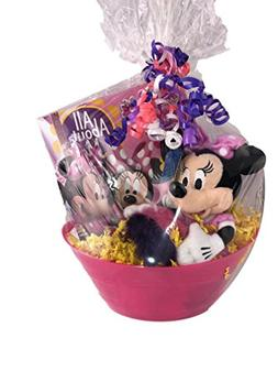 Minnie Mouse Themed Gift Basket for Birthdays, Get Well, Goo