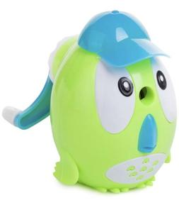 Mr. Pen- Owl Pencil Sharpener W/ Hat, Manual, For Colored Pe