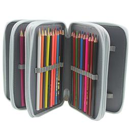Pshine Multi-layer 72 Slots Students Pencil holder- Pencil C