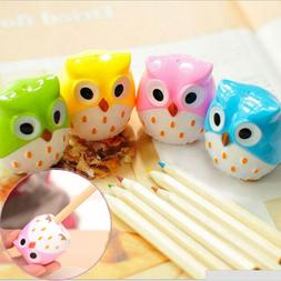 New 3PCs Owl Pencil sharpener cutter blades two holes Office
