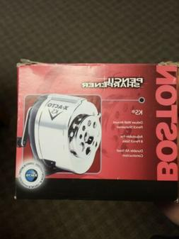 NEW IN BOX!! Boston Deluxe Wall Mount Pencil Sharpener Model
