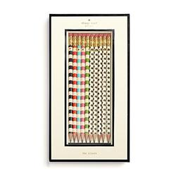 kate spade new york Pencil Set, Stripes and Dots