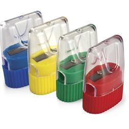 Officemate OIC Achieva Cone Shape Sharpener, Box of 8, Assor