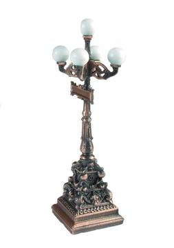 Old Time Street Light Die Cast Metal Collectible Pencil Shar