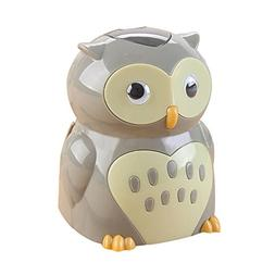 Baidecor Owl Shape Electric Pencil Sharpener For Kid