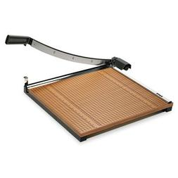 "Paper Trimmer, 18"", 18 Sheet Capacity, Brown/Black, Sold as"