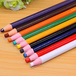 Peel-off China Markers Grease Pencil Crayons 9 Pcs Asssorted