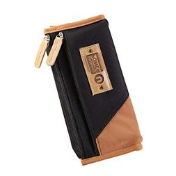 Dylandy Fashion Pencil Case Large Capacity Simple Polyester