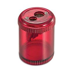 Officemate Pencil / Crayon Sharpener, Twin, Red EA
