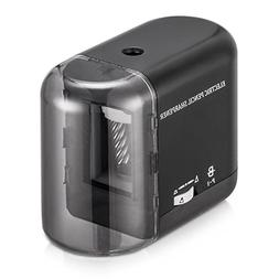 BOOCOSA Pencil Sharpener, BEST Heavy Duty Steel Blade, Elect