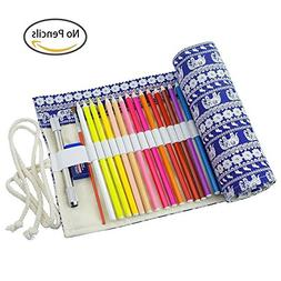 Pencil Wrap Holders, TopRay Canvas Travel Drawing Pencils Ro