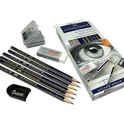 Faber Castell pencils 2B 2H HB 4B 6B B graphite pencils with