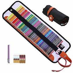 Refoc 50 Colored Pencils with Case Drawing Pencils Kit Label
