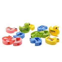 Pack Of 48 Plastic Cute Duck Shape Pencil Sharpeners For Kid
