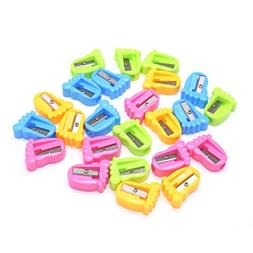 Pack Of 24 Plastic Feet Pencil Sharpeners For Kids Boys And