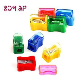 Finico 96 PCS Coloured Plastic Pencil Sharpener,Kids Plast