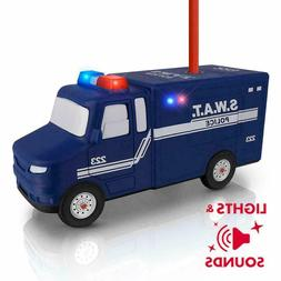 Police SWAT Pencil Sharpener with Lights and Music
