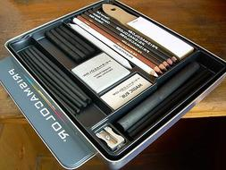 Prismacolor Premier Charcoal Sketching Set, 24 Pieces