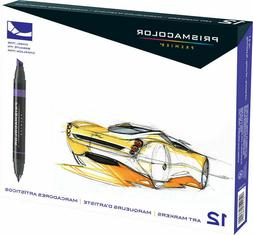 Prismacolor Premier Double-Ended Art Markers, Primary/Second