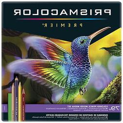 Prismacolor 1794654 Premier Mixed Media Set, Colored Pencils